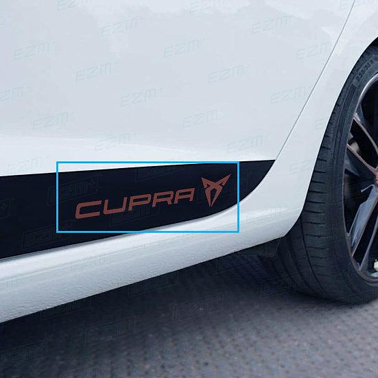 EZM Sill Decals x 2 for Seat Leon MK3 / MK3.5 Cupra