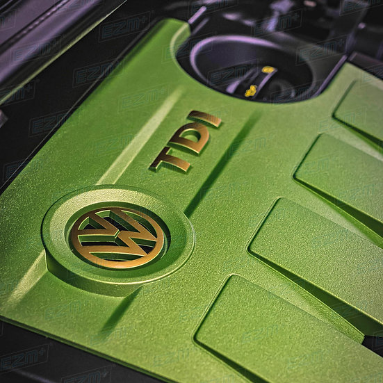 EZM Engine Cover Decals for VW Caddy TDI