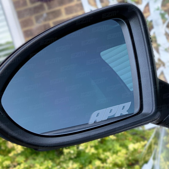 APR Frosted Wing Mirror Decals x 2