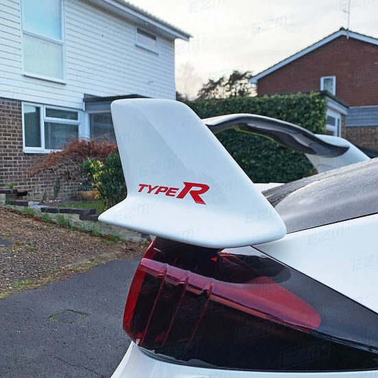 Type R Spoiler Wing Side Decals x 2 For Honda Civic Type R FK2