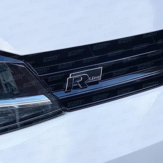 EZM Front R Badge Overlay x 1 for VW Golf MK7.5 R-Line