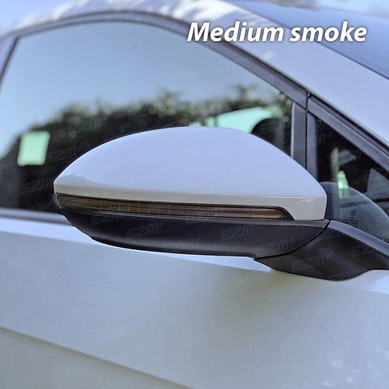 EZM Wing Mirror Indicator Strip Pre-Cut Tints x 2 for VW Golf MK7 / MK7.5