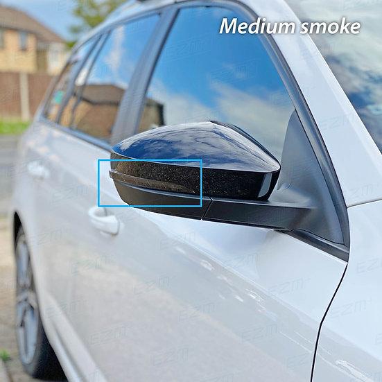 EZM Wing Mirror Indicator Strip Tints x 2 for Skoda Octavia MK3 Models