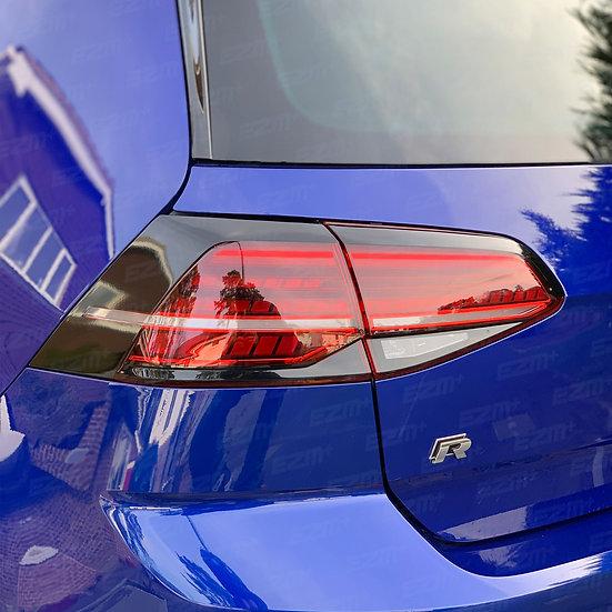 EZM Tail Light Stealth Overlays x 2 for VW Golf MK7.5 Models