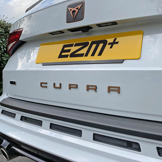 EZM CUPRA Boot Badge Overlays for Cupra Ateca MK1