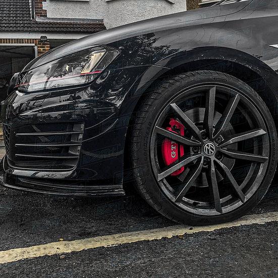 EZM Front Brake Caliper Cover Decals x 2 for VW Golf MK7/MK7.5 GTD