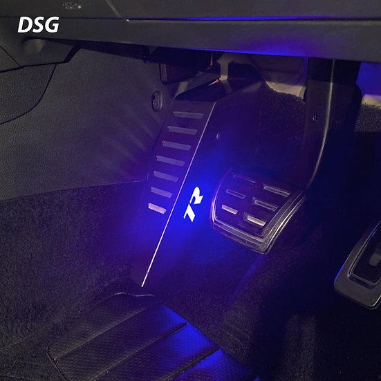 EZM Steel LED Footrest for VW Golf MK7 / MK7.5 R Models