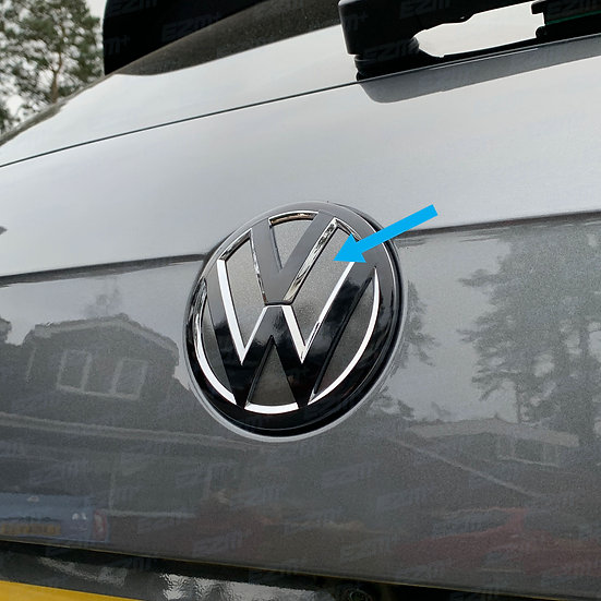 EZM Rear VW Badge Inlays for VW Tiguan MK2 (5N) Models