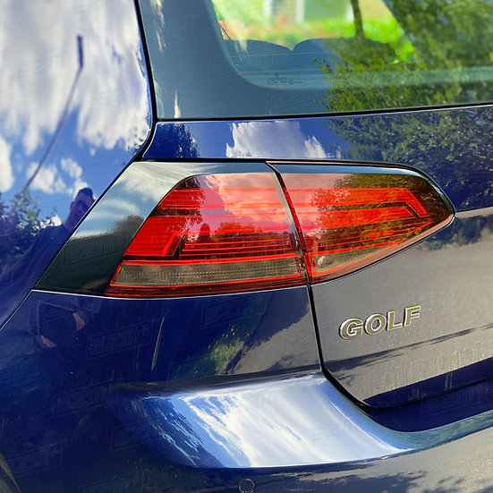 EZM Tail Light Stealth Overlays x 2 for VW Golf MK7 / MK7.5 TSI / TDI