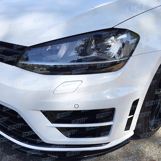 EZM Headlight Brow Decals x 2 for VW Golf MK7 Models