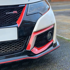 Honda Civic Type R FK2 - Front Bumper Up