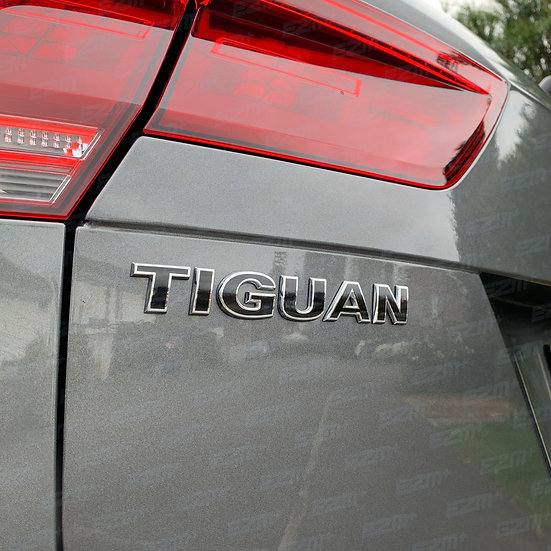 EZM Vinyl Boot Badge Overlay for VW Tiguan MK2 (5N) Models