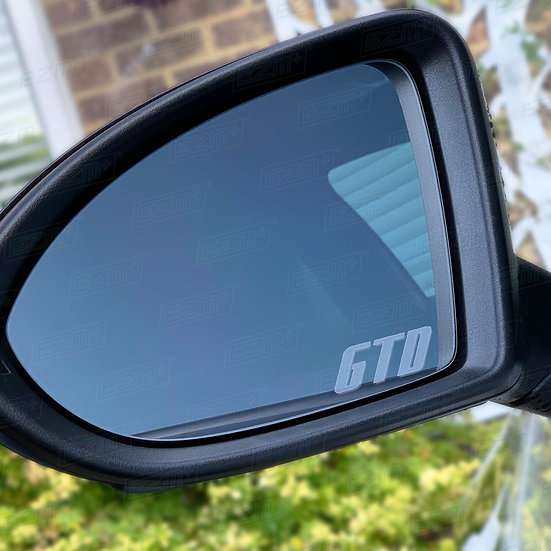 EZM Frosted Wing Mirror Decals x 2 for VW Golf MK7 / MK7.5 GTD