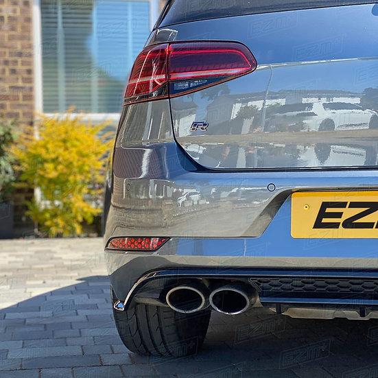 EZM Reflector Decals x 2 for VW Golf MK7.5 models