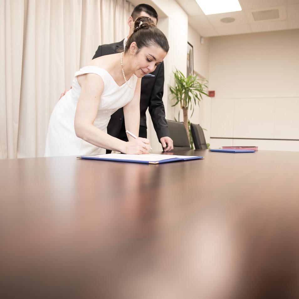 signature registre