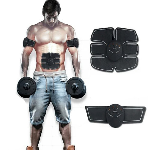 Abdominal and Biceps stimulation trainer
