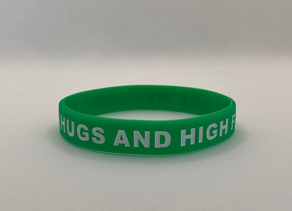 Hugs and High Fives Welcome Bracelet