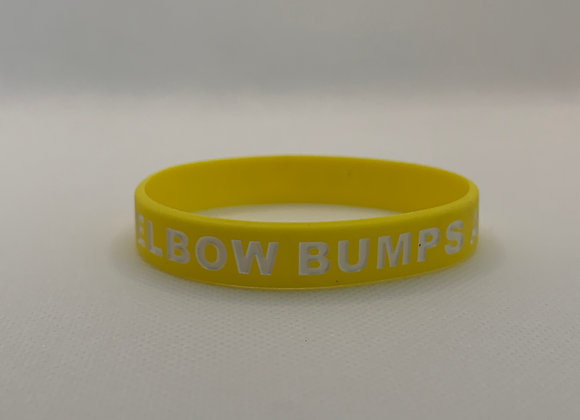 Fist and Elbow Bumps Only Bracelet