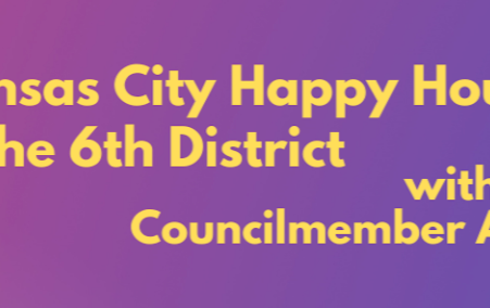SEPTEMBER 22 - 6th District Community Happy Hour