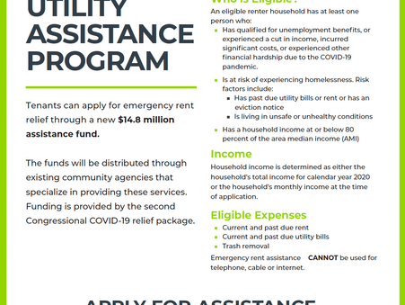 KCMO Emergency Rent and Utility Assistance Program