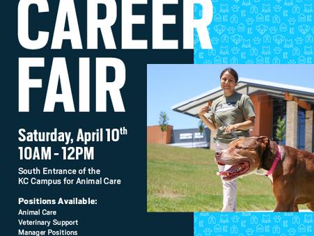 KC Pet Project Hiring Fair on April 10