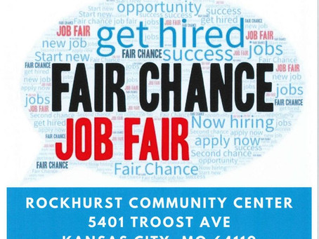Looking for employment? Check out the Fair Chance Job Fair on November 12