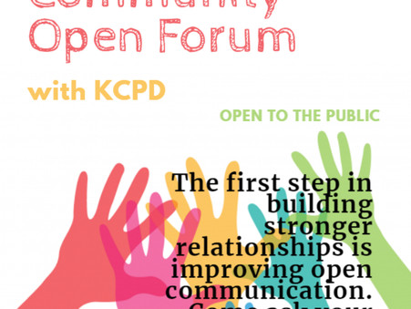 Community Open Forum with KCPD