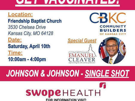 Drive Thru Mass Vaccination at Friendship Baptist Church
