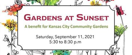 Gardens at Sunset - a benefit for Kansas City Community Gardens