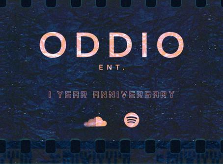 ODDIO's 1 Year Anniversary Playlist