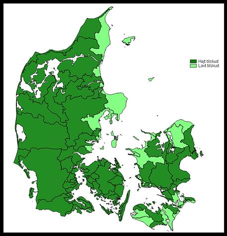 Tilskudsområder - Skovrejsning