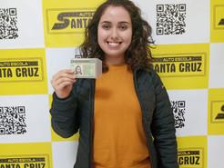 Parabéns para nossa aluna (Julia do Prado)