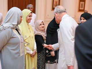 Meeting his Royal Highness, Prince Charles
