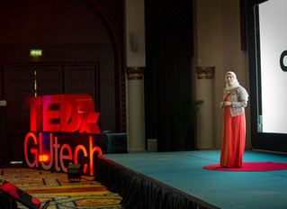 Impression on TEDxGUTech: Connect The Dots