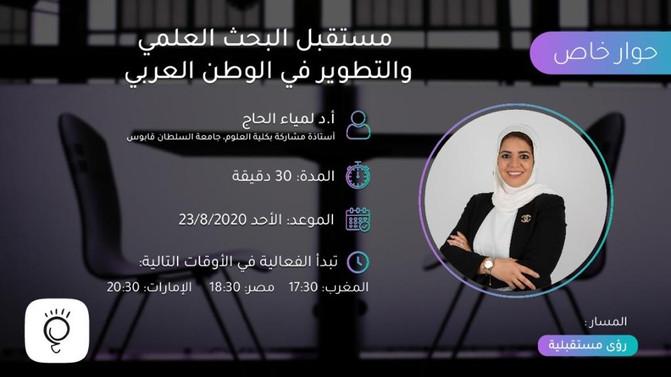 مستقبل البحث العلمي والتطوير في الوطن العربي