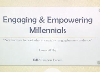 "IMD Business Forum ""New horizons for leadership in a rapidly changing business landscape''"