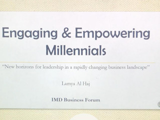 """IMD Business Forum """"New horizons for leadership in a rapidly changing business landscape''"""