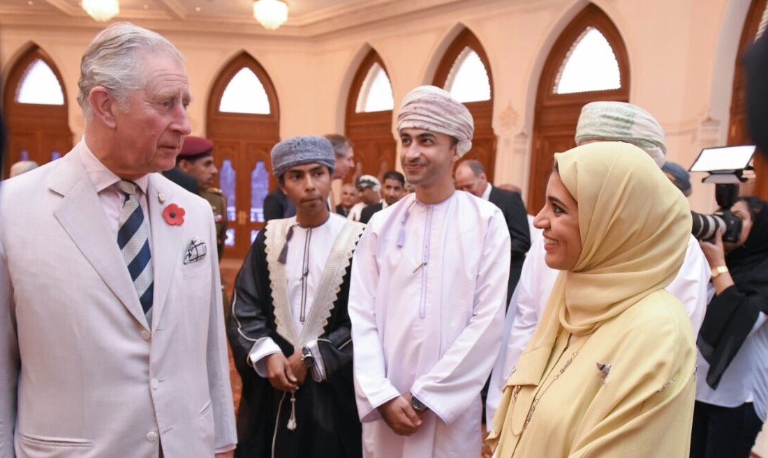 With the Prince Charles