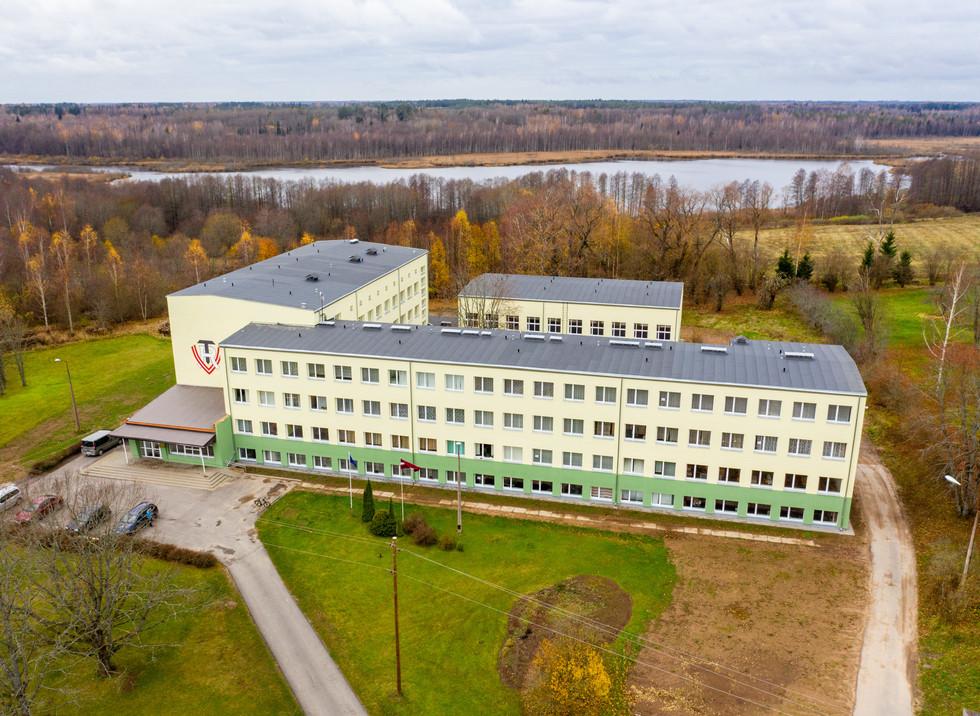 Profesionālās izglītības kompetences centrs, Limbaži, Latvija. Renovācija