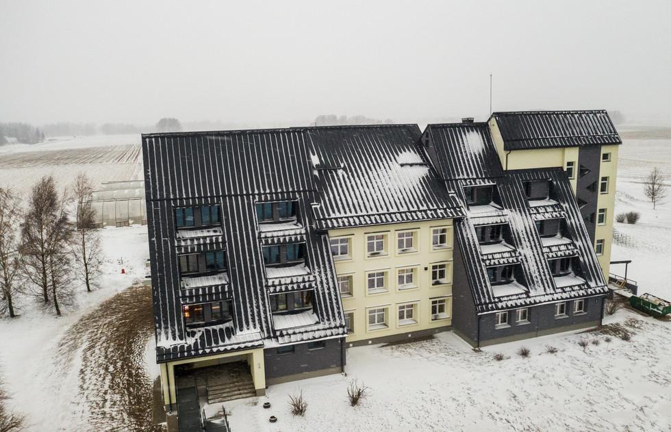 Agroresursu un ekonomikas institūts, Priekuļi, Latvija. Renovācija