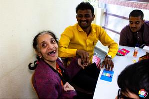 Rashu's energetic smile!