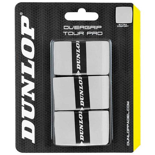 Dunlop Tour Pro Grip White x 3