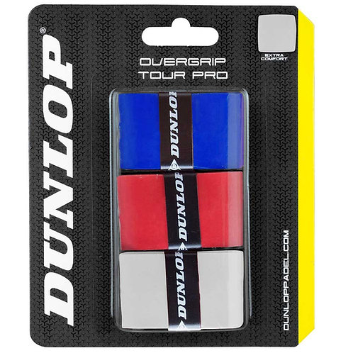 Dunlop Tour Pro Grip Mixed x 3