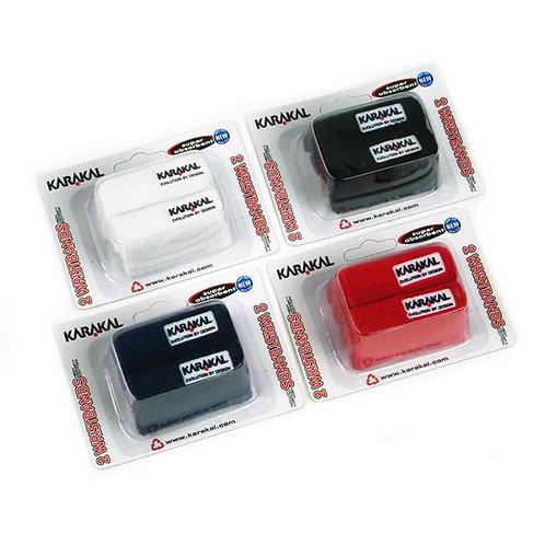 Karakal Wristband Twin Pack