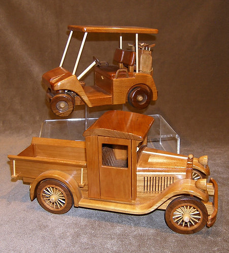 Wood Golf Cart or Truck