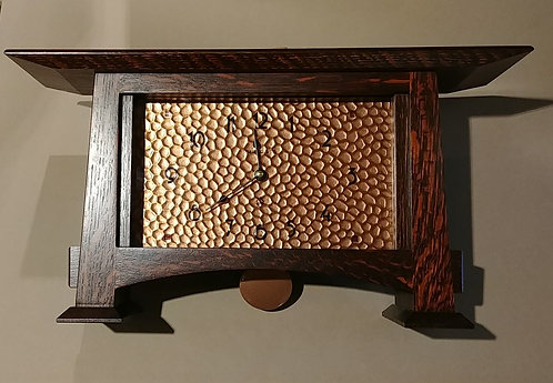 Copper-faced Clock