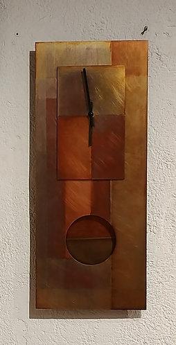 All Copper Clock