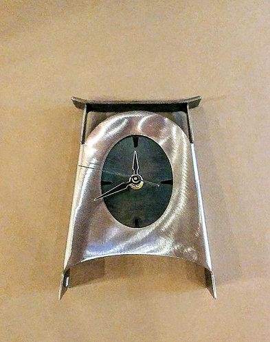 Metal Shelf or Desk Clock