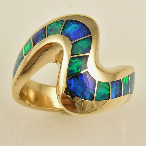 14kt Gold & Opal Ring