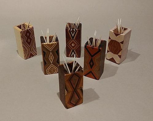 Wood Toothpick Holders